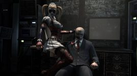 Batman Arkham Asylum - Do you like Harley's new outfit?