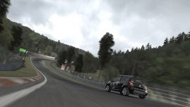 Forza Motorsport 3 - Ignore the flat trees.