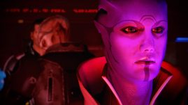 ME2 - Tough talking Aria is quite fascinating.