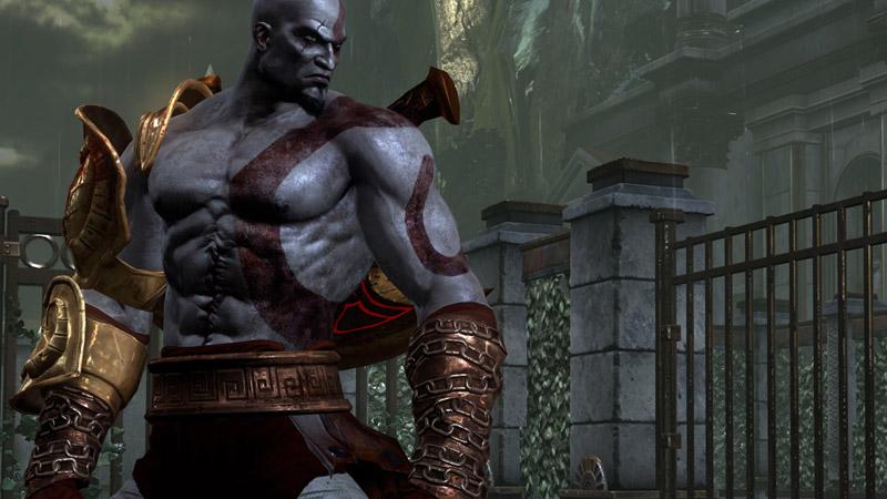 The Rock As Kratos
