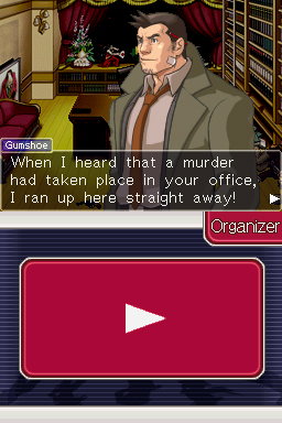 Ace Attorney Investigations - Gumshoe is back along with the whole supporting cast