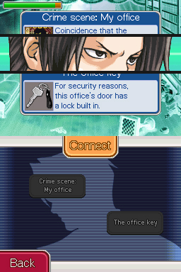 Ace Attorney Investigations - Using logic to connect Miles thoughts