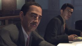 Mafia II - Is he a high level mobster? Yes.