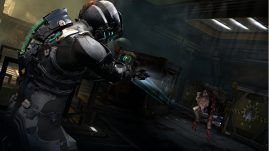 Dead Space 2 - New rushing enemy type, meet plasma cutter