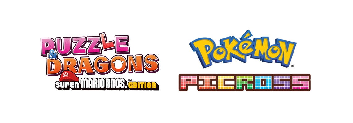LTTP: Puzzles & Dragons: SMB Edition & Pokemon Picross